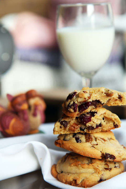 Cranberry Chocolate Chip Pecan Cookies » Say it with Sprinkles: A ...
