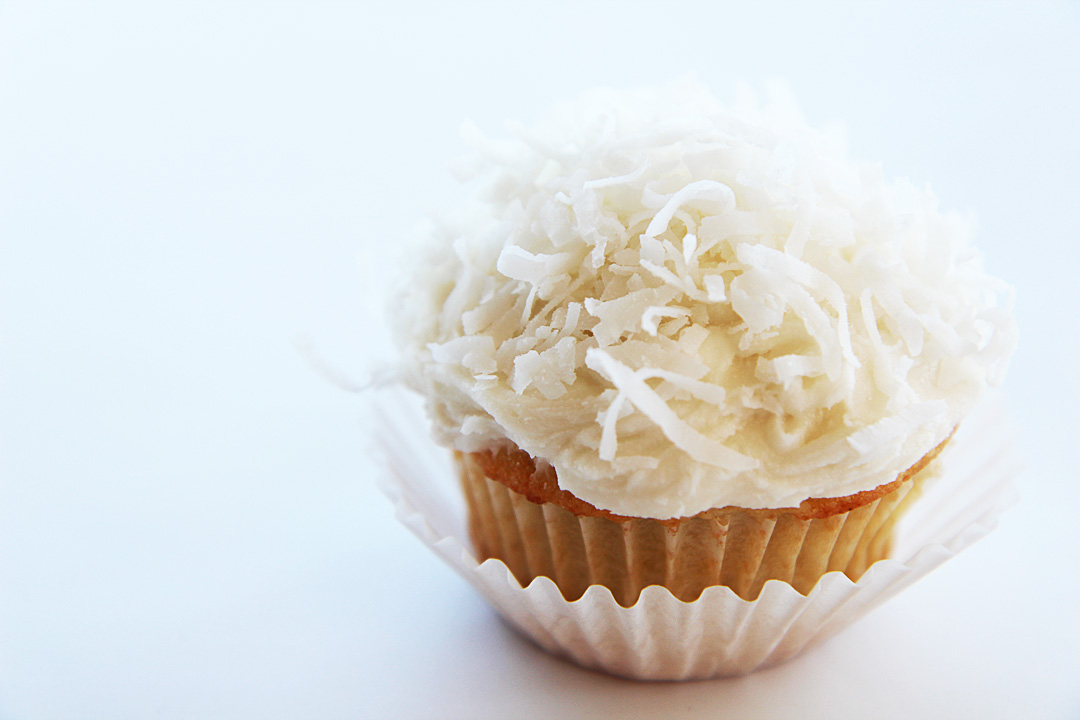 Coconut Cupcakes Recipe Dishmaps